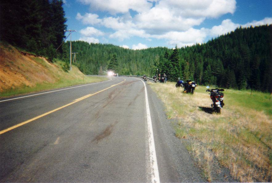 Route 8, West of Elk River