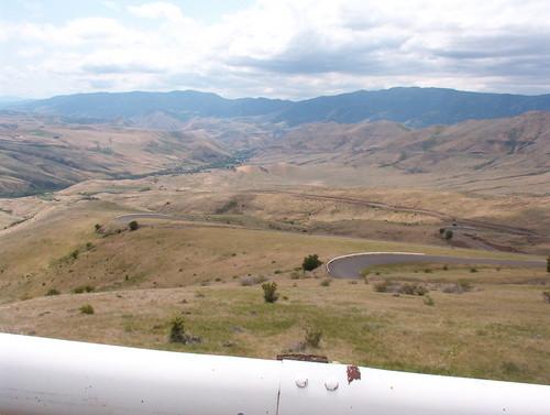 View down the White Bird valley