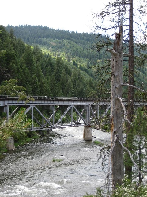 Trestle over the Payette River