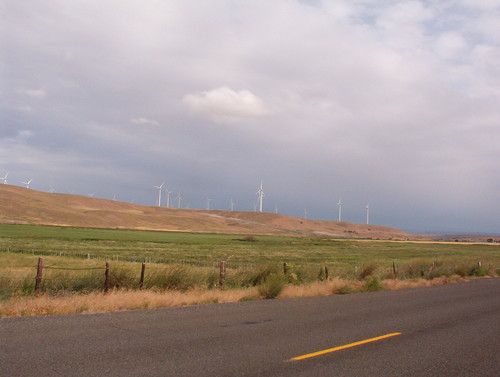 Windfarm just west of Condon