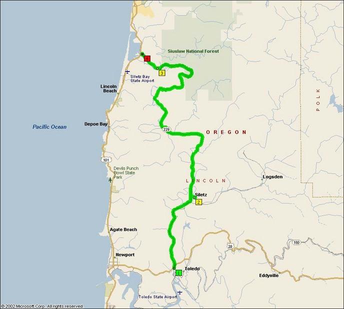 Farmland: Oregon Route 229, The Siletz Highway Motorcycle Roads