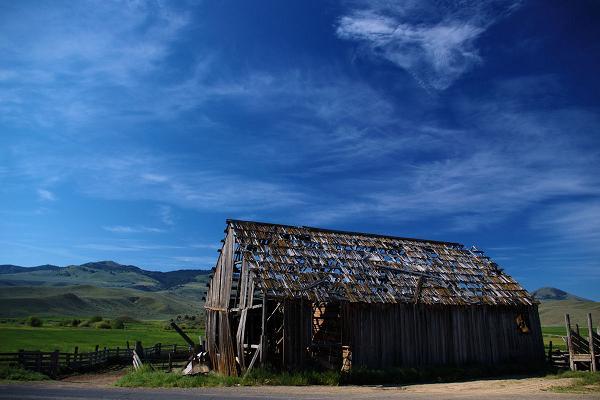 Abandoned Barn along Route 245