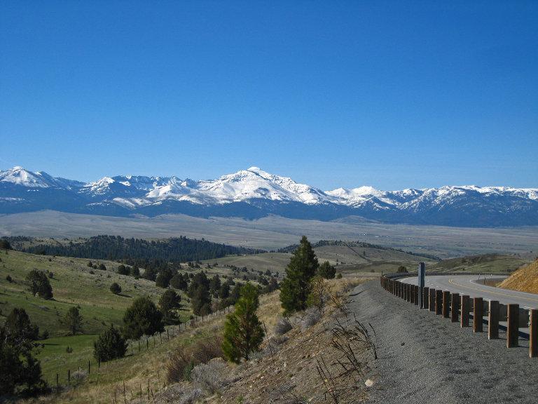 Elkhorn Mountains of Oregon
