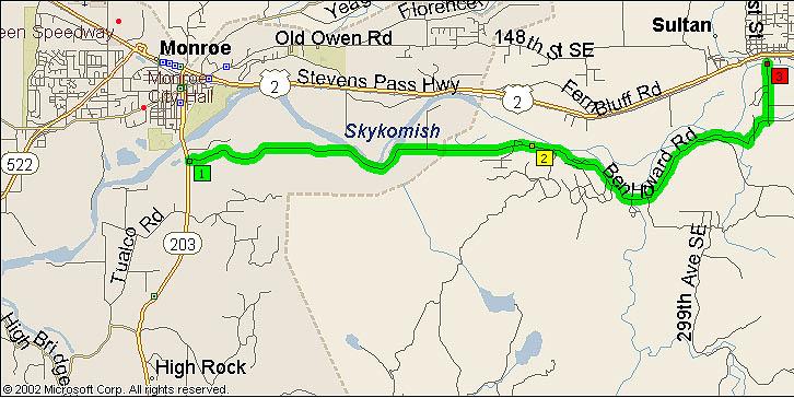 Map of Ben Howard Road