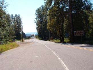 The north end of FS25 / WA SR 131