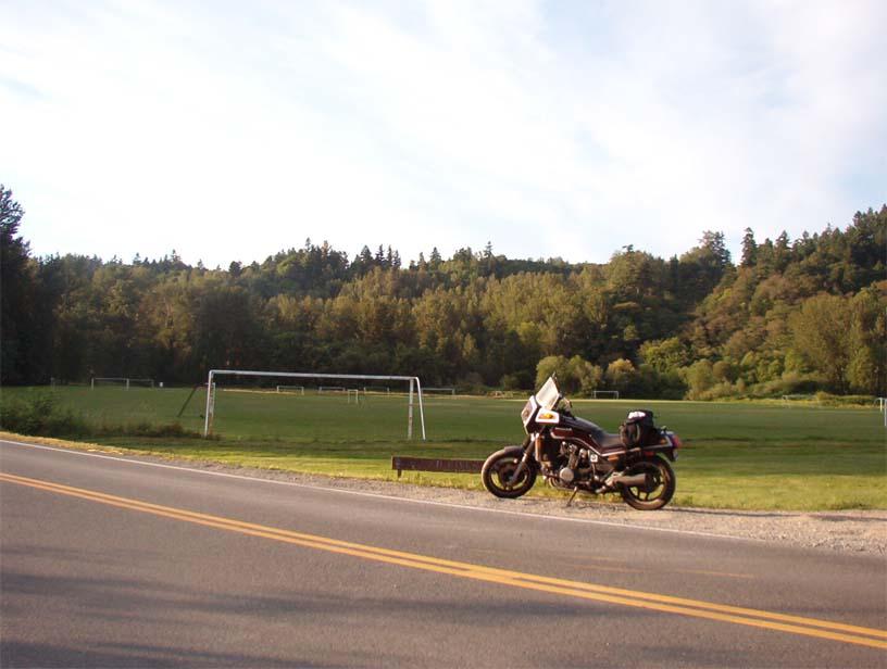 Soccer Fields alongside Green River Road, North of Auburn