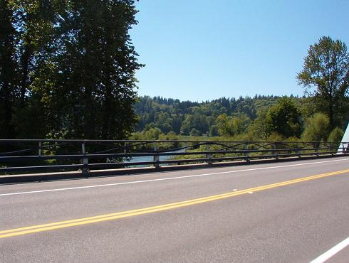 View of the Snoqualmie River