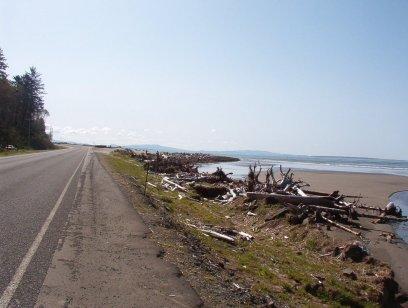 Land meets Sea. Probably near Hawks Point