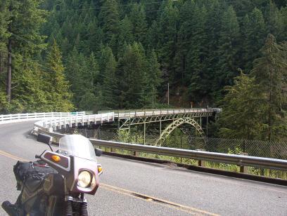 Bridge over the Carbon River