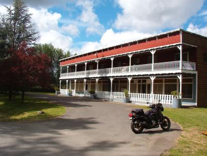 An old hotel outside of Carbonado, now converted to offices