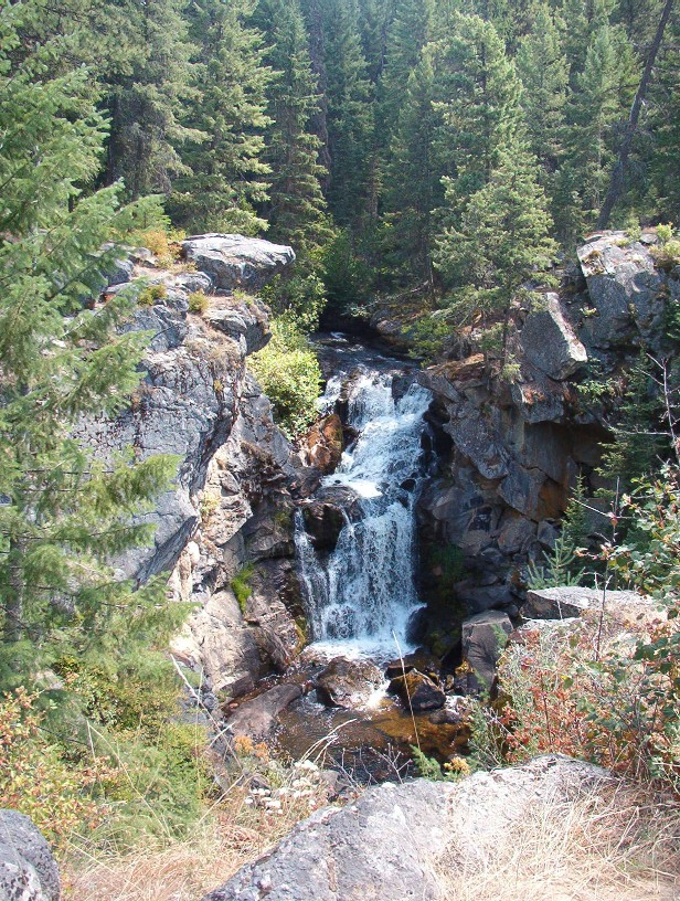 Crystal Falls, east of Colville