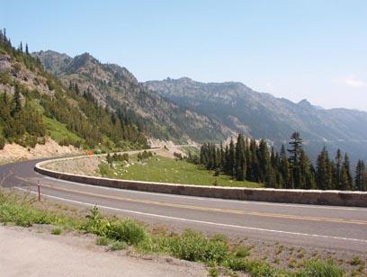 View of Chinook Pass
