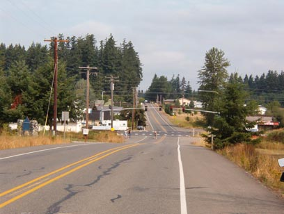 Junction of WA508 and Jackson Highway (Old US99)